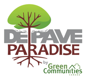 Connect with Green Communities Canada & Depave Paradise.