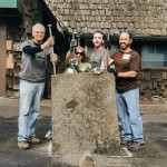 Congressman Earl Blumenauer, Suzanne (EMSWCD), Eric (Depave), Andy (Human Solutions)